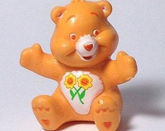 Vintage Friend Bear Care Bear PVC toy Cake Topper