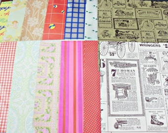 Gift Wrapping Paper Vintage 60s