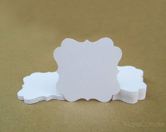 White Tag, White Gift Tag Set of 100