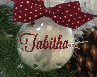 Volleyball Spike Ornament, personalized ornaments and accescories, Personalized