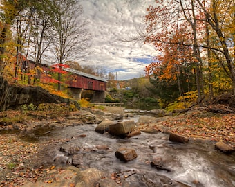 Northfield Covered Bridge, Vermont