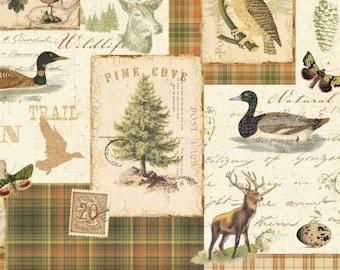 Quilting Fabric Drapery Fabric Script Fabric Nordic Fabric Animal Wildlife