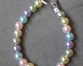Multicolor Pearl Bracelet