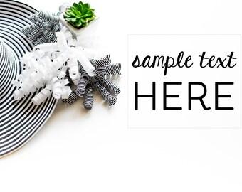 ON SALE Styled Stock Photography, Black White Theme, Mock Up, Digital Background, Stock19