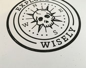Explore Wisely Print