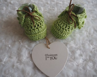 cotton baby moccasins/deck shoes/sandals/crochet baby booties/cotton pumps/cotton booties/christening shoes/ baby shower gift/ baby shoes.