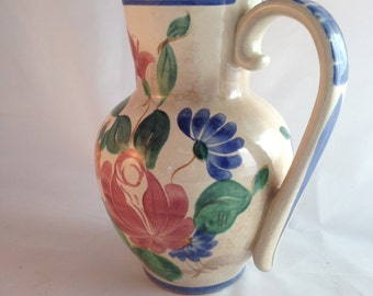 Vintage Red Wing Orleans 1941 Water Pitcher Pottery Home Decor Kitchen