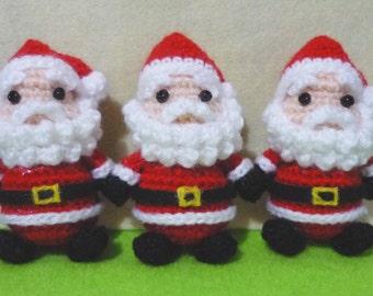 Santa Claus Amigurumi - M Size