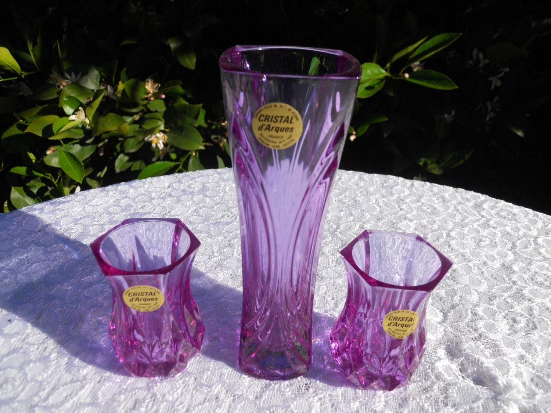 Vintage Alexandrite Neodymium Cristal D Arques Crystal