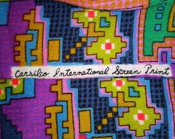 Carsilco International screenprint fabric.