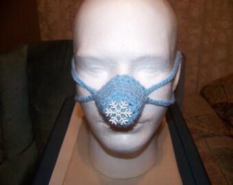 Snowflake Nose Warmer