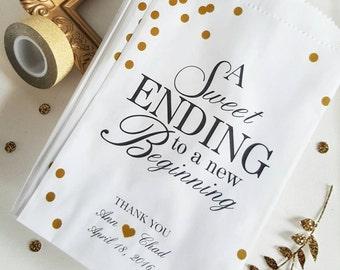 Wedding Candy Bag / Favor Bags / Wedding Candy Bag / Anniversary Favor / Baby Shower Treat Bag