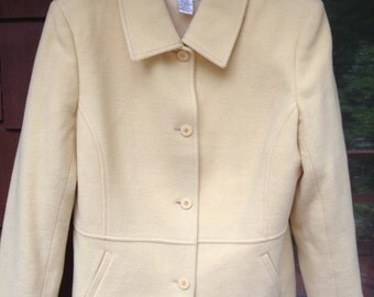 Women's wool blazer