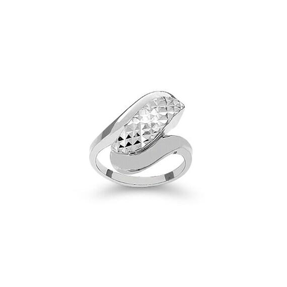 sterling silver fancy ring index finger ring