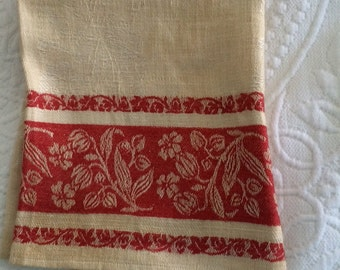 Victorian Damask Towel