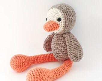 Penguin Plush, Penguin Stuffed animal, Penguin Plushie, Penguin Stuffed Toy, Crochet Penguin