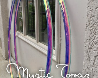 Best Seller~ Mystic Topaz Polypro or HDPE Hoop