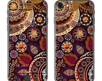 Autumn Mehndi by Fusion Idol - iPhone 7/7 Plus Skin - Sticker Decal