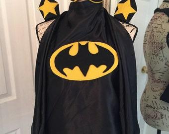 Boys Batman cape & mask