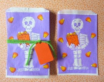 20 Vintage Halloween Treat Favor Bags