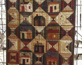 Pattern: All Around Town Quilt Pattern by Country Threads