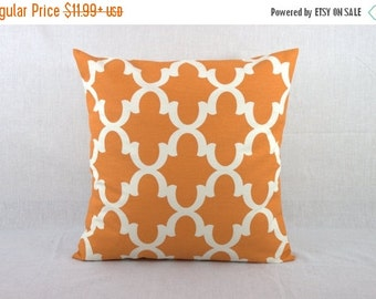 SALE ENDS SOON Orange Pillow Cover 0003