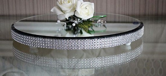 16 inch wedding cake stand items similar to made 16 inch diamante wedding cake 1028