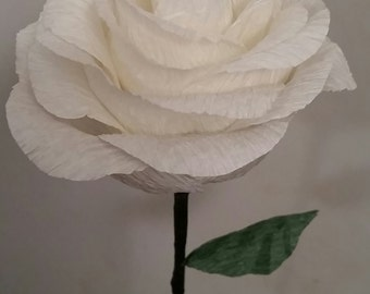 Paper Flowers - Long-stem Roses
