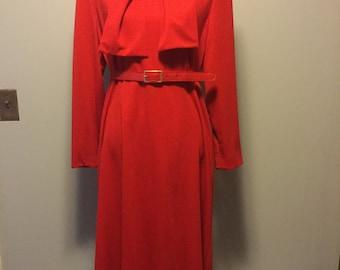Henry lee red dress