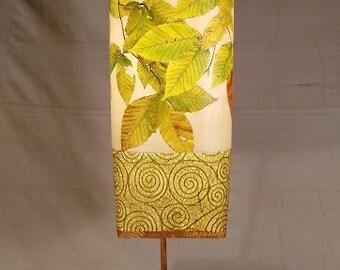 Handmade Lamp | Paper Lamp Shade | Nature Lamp | Unique Desk Lamp | Tall Lamp Shades | Tall Desk Lamp | Desk Lamp | Paper Lamps | Tall Lamps