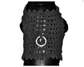 Small Dog Harness Elegant Handknitted Dog  Harness-Sweater