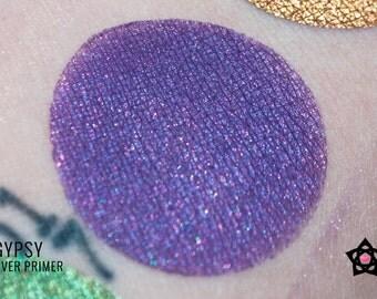 """Violet Purple Eyeshadow Glitter Shimmer - """"Gypsy"""" - Deep purple glitter shimmer eyeshadow - Vegan Mineral Eyeshadow - Loose eyeshadow"""