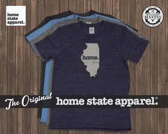 Illinois Home. shirt- Men's/Unisex