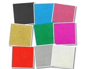 Glitter Fabric Sheet - BULK PACK x 9