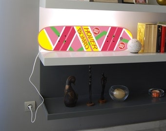 Back to the future Hoverboard , LED Light , Skateboard Lamp