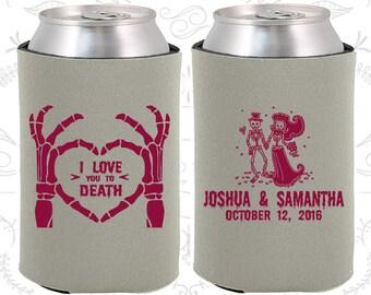 I Love you to Death, Sugar Skull Wedding, Day of the Dead Wedding, Candy Skull Wedding Favors, Dia De Los Muertos Wedding Favors (204)