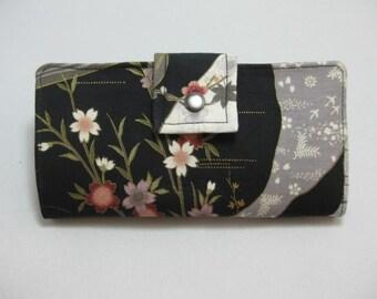 Womens Wallet, Handmade Ladies Wallet, BiFold Clutch