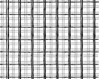 Loralie Designs - Sophistiplaid White / Black