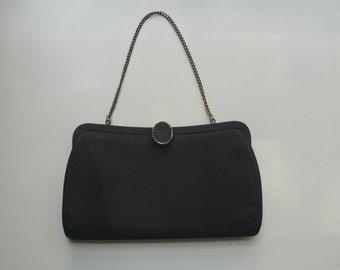 Vintage Black Purse | handbag | clutch
