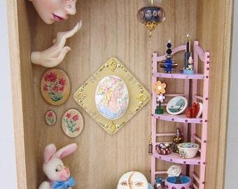 ALICE - Shadow box/Diorama Art