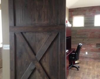 Mlsmith703's custom barn door