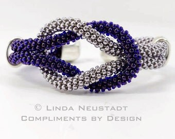 KUMIHIMO BRACELET Tutorial Love Knot Cuff  Download Instantly