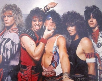 RATT Metal Mania Robus Book 1984