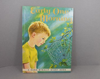 Early One Morning by Valerie Grayland, Marjorie Cooper, Rand McNally Giant Size Vintage Children's Book 1963