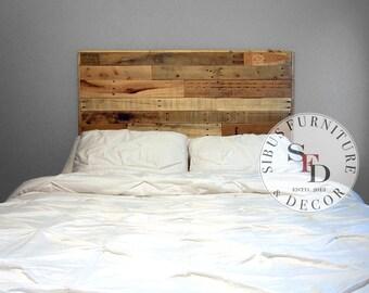 Reclaimed Wood Headboard - Pallet Headboard - SALE - Twin Full Queen King Size