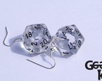 D20 Dangle Earrings