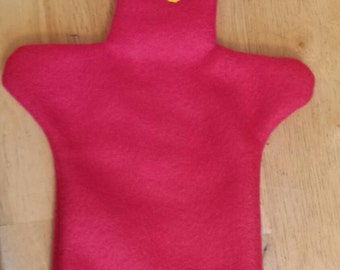 Red Gumby Hand Puppet