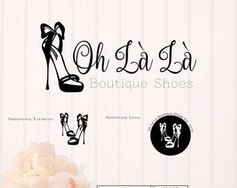 Oh La La Boutique Premade Logo