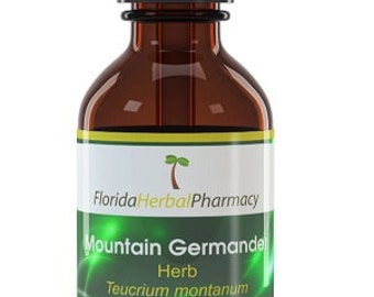 Mountain Germander Tincture (Teucrium montanum), Florida Herbal Pharmacy
