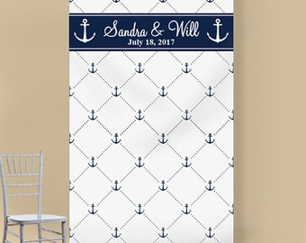 Anchor Personalized Photo Booth Backdrop (SKU: ENFW-JM775016)